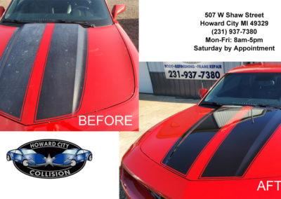 Camaro Repaint Stripes