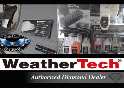 WeatherTech authorized diamond dealer