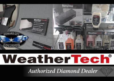 WeatherTech authorized diamond dealer