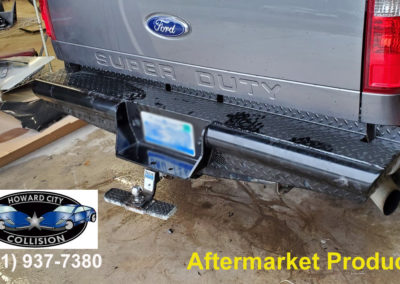 aftermarket rear bumper sell and install